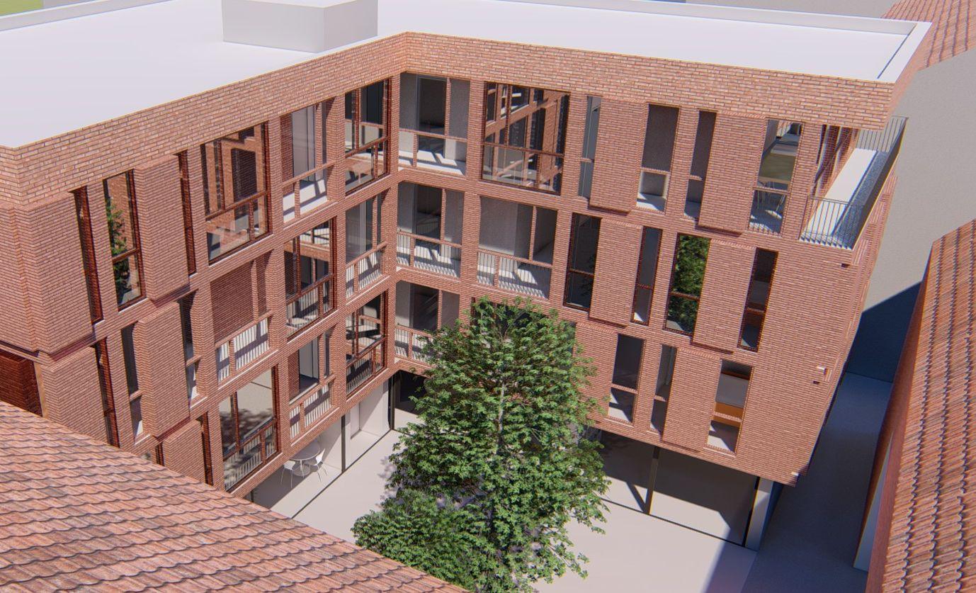 Large residential development