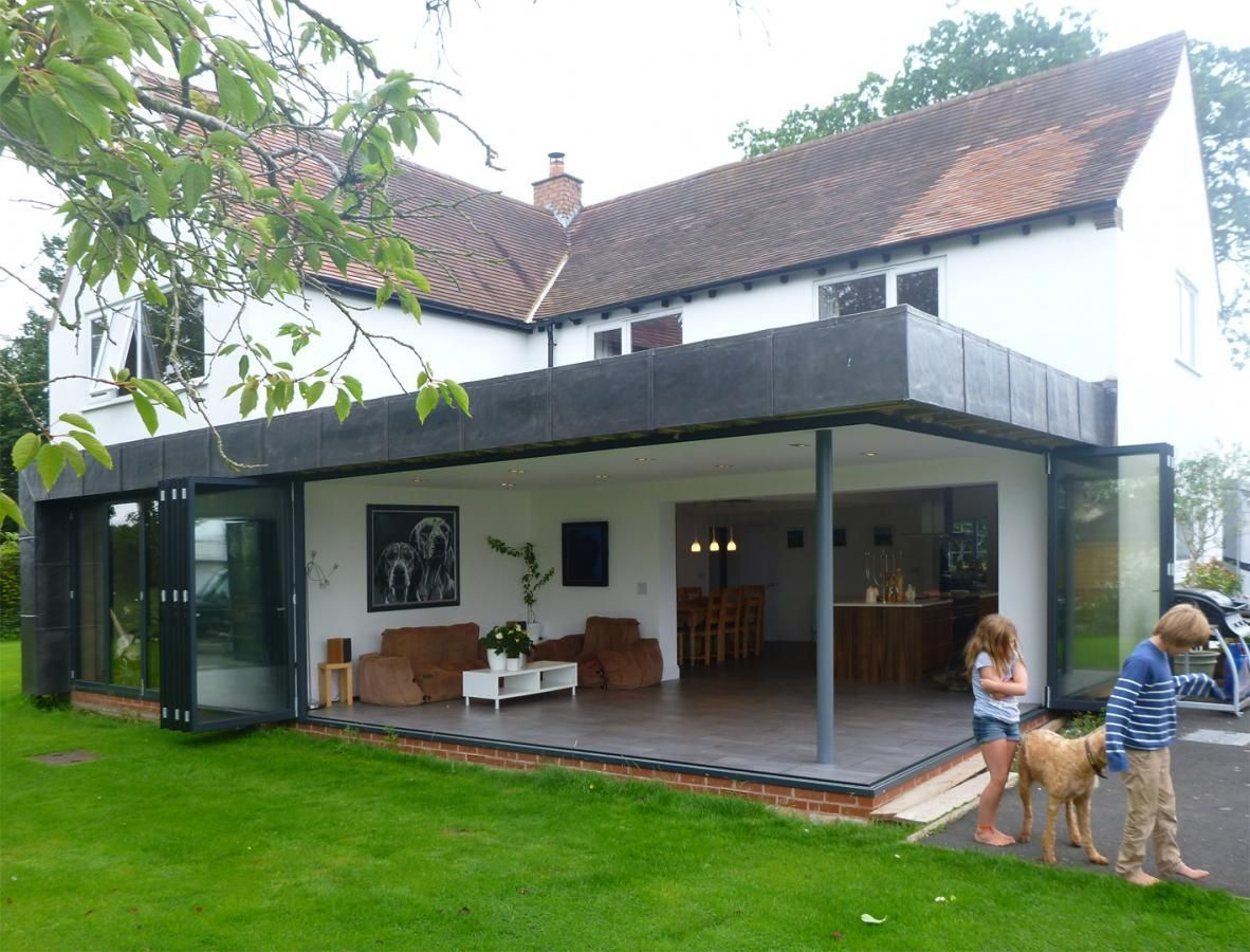 Detached Garage Extension Ideas Rear Extension And Internal.