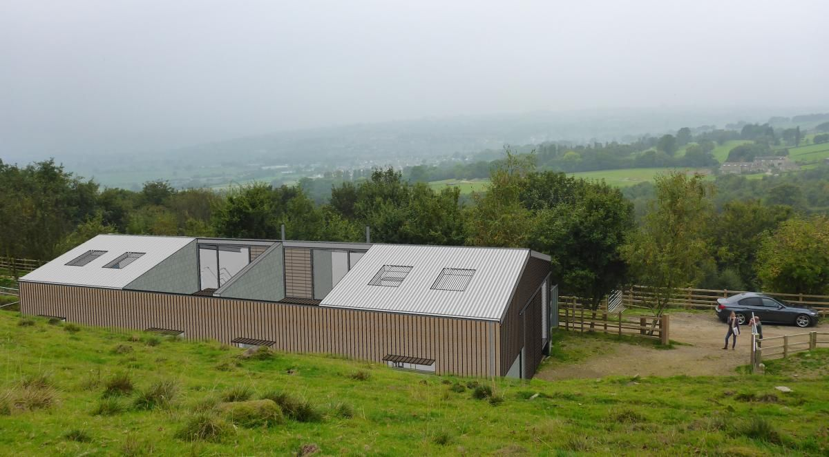 Contemporary Barn Conversion Silsden Roost Architects