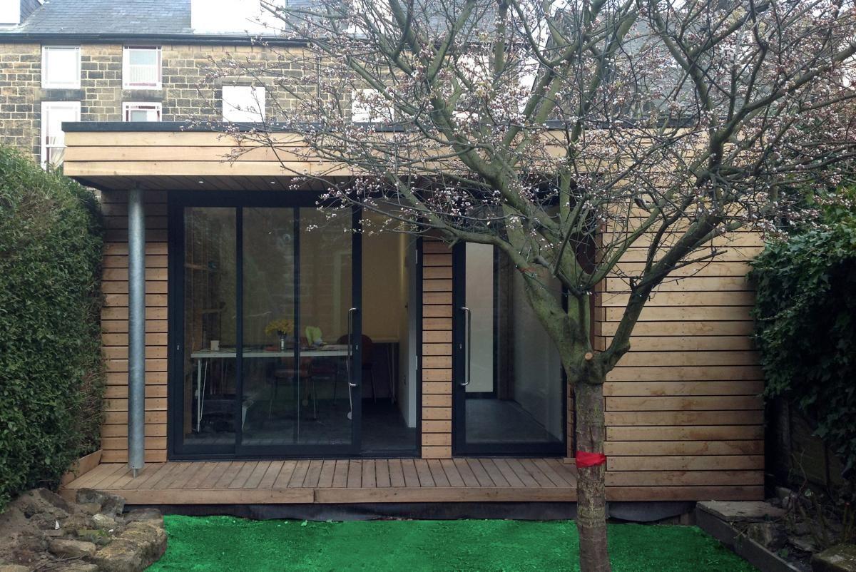 home office in garden. Home Office / Garden Room, Ilkley, W Yorks In C