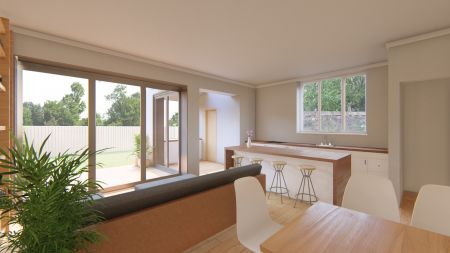 New modern extension to a Victorian period property